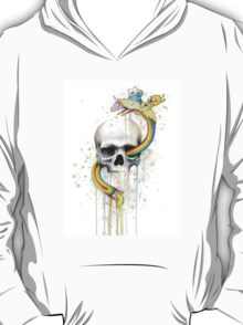 Adventure through Time and Face T-Shirt