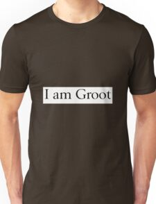 I am Groot Unisex T-Shirt