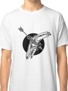 Arrow To The Knee Illustration Classic T-Shirt