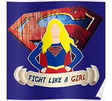 Fight like a (Super)girl  Poster
