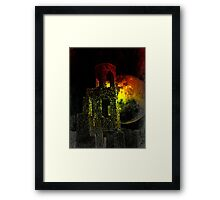 The Ruins Of Blarney Castle Ireland Framed Print