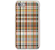 Colorful Plaid iPhone Case/Skin