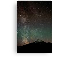 Twilight Heaven on the Hood Canvas Print