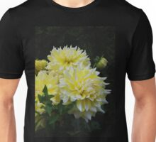 Yellow Dahlias Unisex T-Shirt