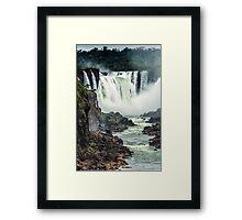 Iguaza Falls - No. 2 Framed Print