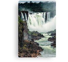 Iguaza Falls - No. 2 Canvas Print