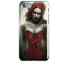 The Red Eyed Witch iPhone Case/Skin