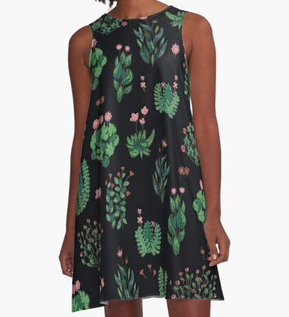 green garden A-Line Dress