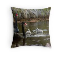 Mrs Swan Speaks! Throw Pillow