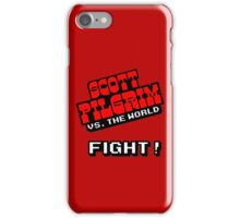 Scott Pilgrim Fight! iPhone Case/Skin