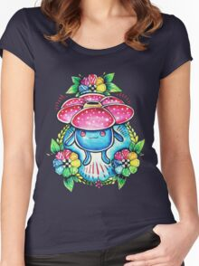 Vileplume Women's Fitted Scoop T-Shirt