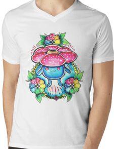 Vileplume Mens V-Neck T-Shirt