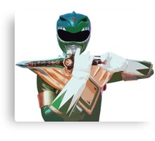 Tommy The Green Ranger Canvas Print