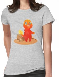 kanto babies: charmander Womens Fitted T-Shirt