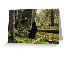Forest Spectre Greeting Card