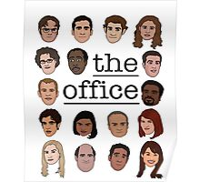 The Office Crew Poster