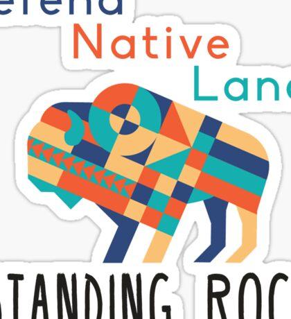 Standing Rock! Sticker