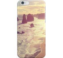 Twelve Apostles with Sun Flare Port Campbell National Park Australia iPhone Case/Skin