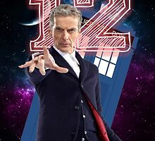 12th Doctor - Greeting Card by thescudders