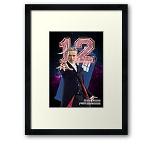 12th Doctor - Greeting Card Framed Print