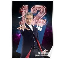 12th Doctor - Greeting Card Poster