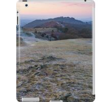 A cold morning at British Camp, Malvern Hills, England iPad Case/Skin