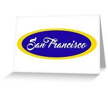 Sixties San Francisco Greeting Card