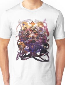 Blazblue Central Fiction All Characters Unisex T-Shirt