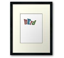 NERD Framed Print
