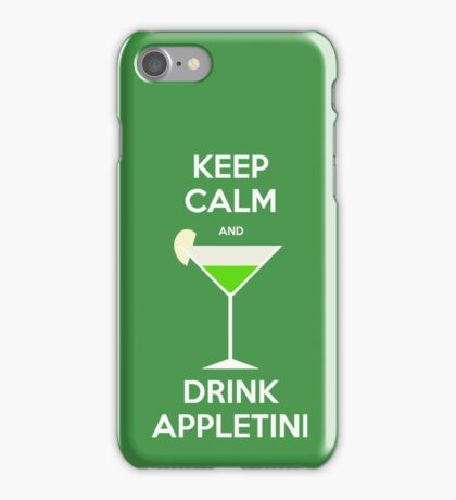 Keep Calm and Drink Appletini iPhone Case/Skin