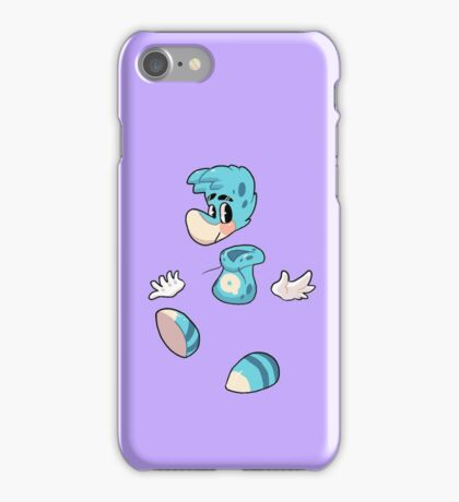rayman - blue iPhone Case/Skin