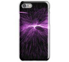 Glowing Lines Abstract iPhone Case/Skin