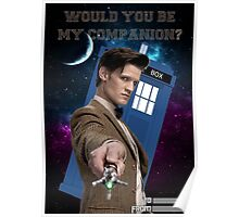 Would you be my companion? Poster