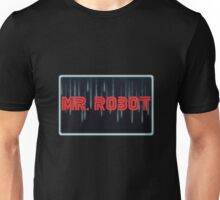Mr. Robot Glowing Neon Unisex T-Shirt
