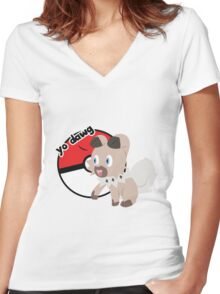 Yo Dawg Women's Fitted V-Neck T-Shirt