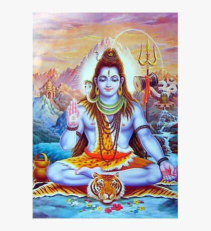 Lord Shiva Hindu Indian Art  Photographic Print