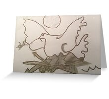 The Peace Dove  Greeting Card