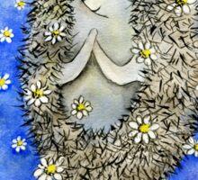 Hedgehog Aphrodite  Sticker