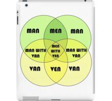 Men With Ven Venn diagram iPad Case/Skin