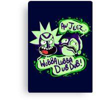 Rick and Morty - Wubba Lubba Dub Dub Canvas Print