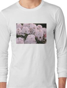 sunset flowers Long Sleeve T-Shirt