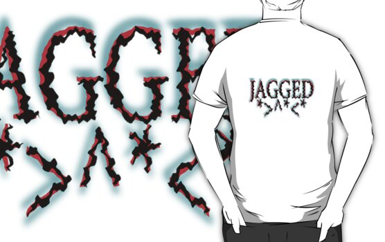 Jagged by TeaseTees