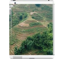 Sapa / Lao Chai Vietnam Paddy fields in the mountains. iPad Case/Skin