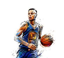 STEPHEN CURRY Photographic Print