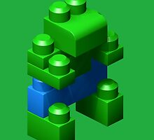 3D Green Giant by RCHECO
