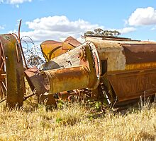 Old Sunshine harvester.... by mitpjenkeating
