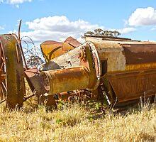 Old Sunshine harvester.... by mitpjenkeating