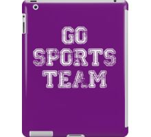 Go Sports Team iPad Case/Skin