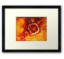 From the Burning Coals Framed Print