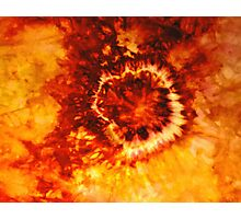 From the Burning Coals Photographic Print